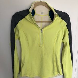 Lululemon Reversible Running Half Zip Jacket